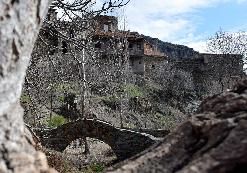 Puente sobre el arroyo Patones (Fotografía de Jesús García)