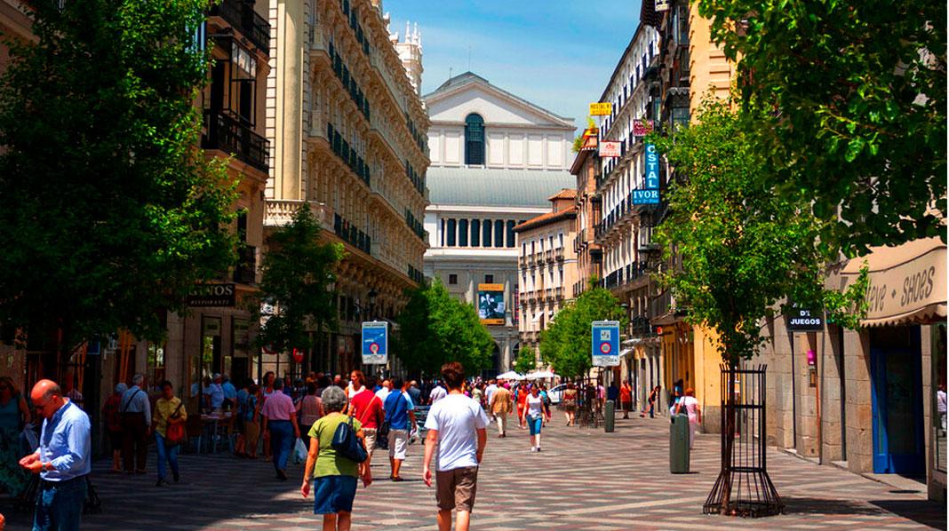 Calle del Arenal en Madrid