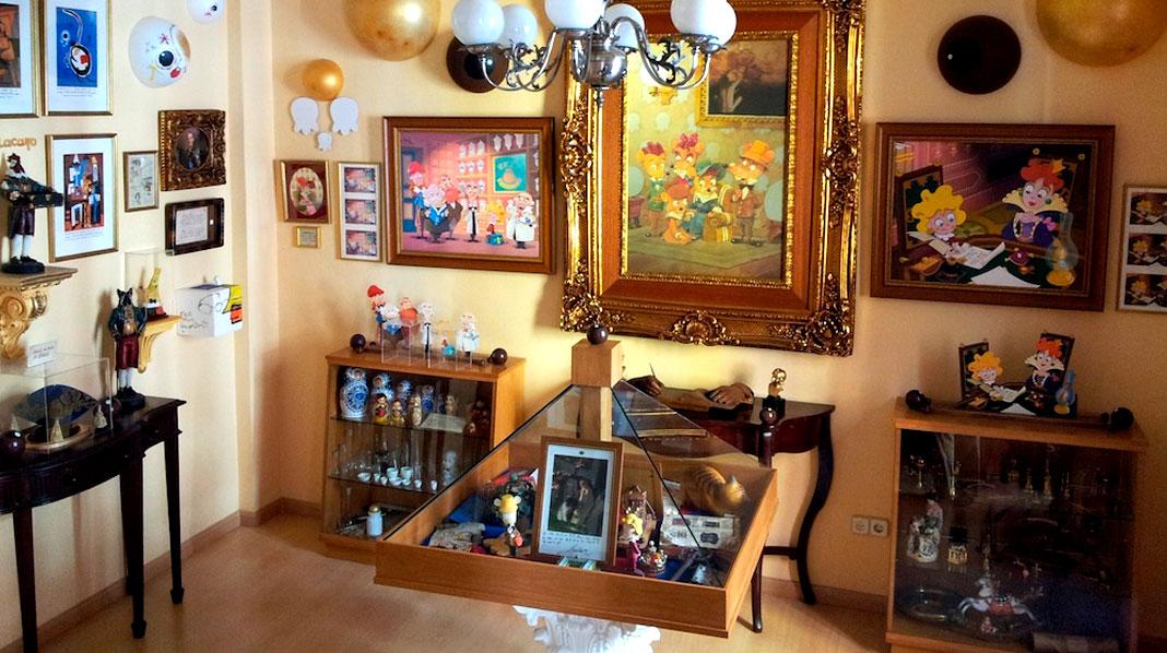 Interior de la Casa Museo del Ratoncito Pérez.