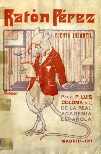 Portada del cuento original del Ratoncito Pérez.