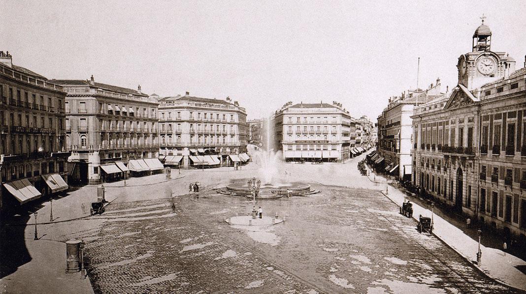 Puerta del Sol en 1919
