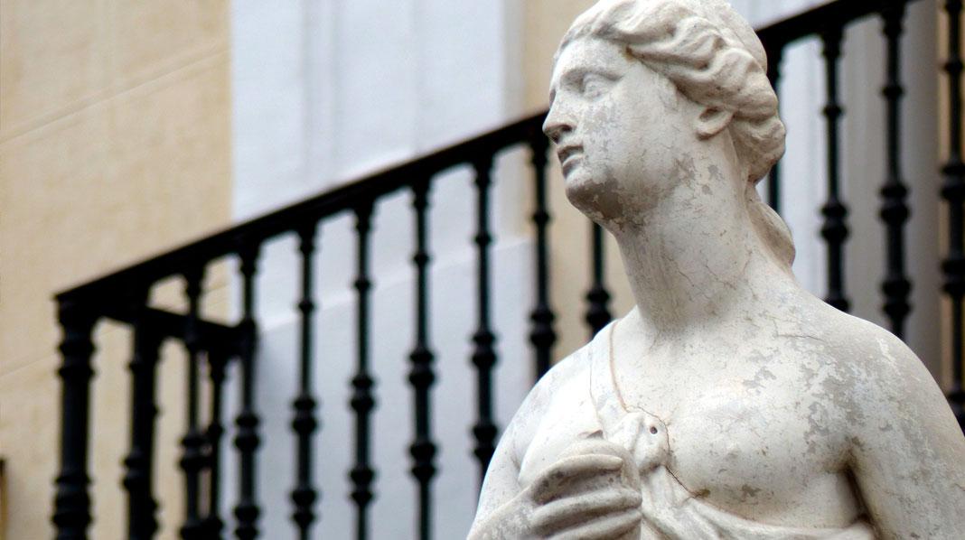Estatua de Mariblanca, en la Puerta del Sol.