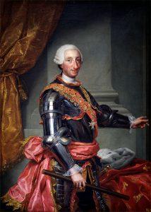 """Retrato de Carlos III, """"el mejor alcalde de Madrid""""."""