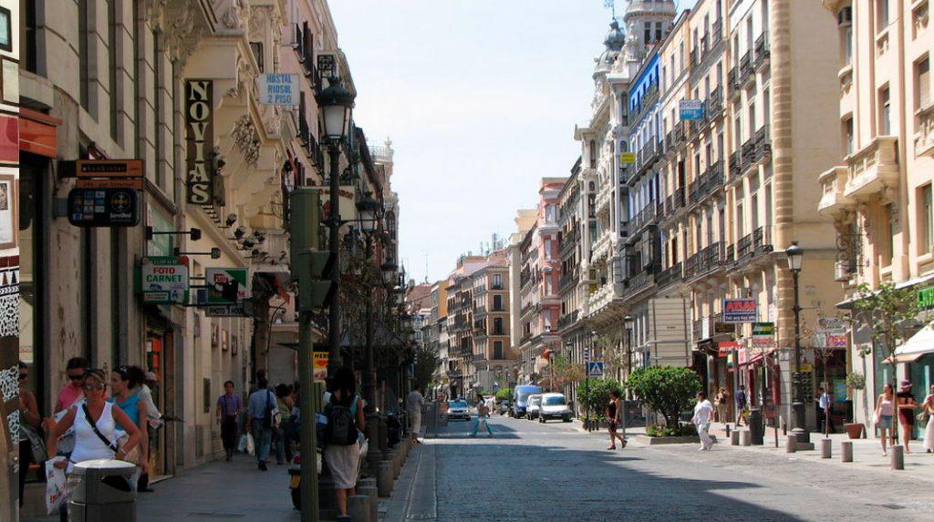 Calle Mayor de Madrid.