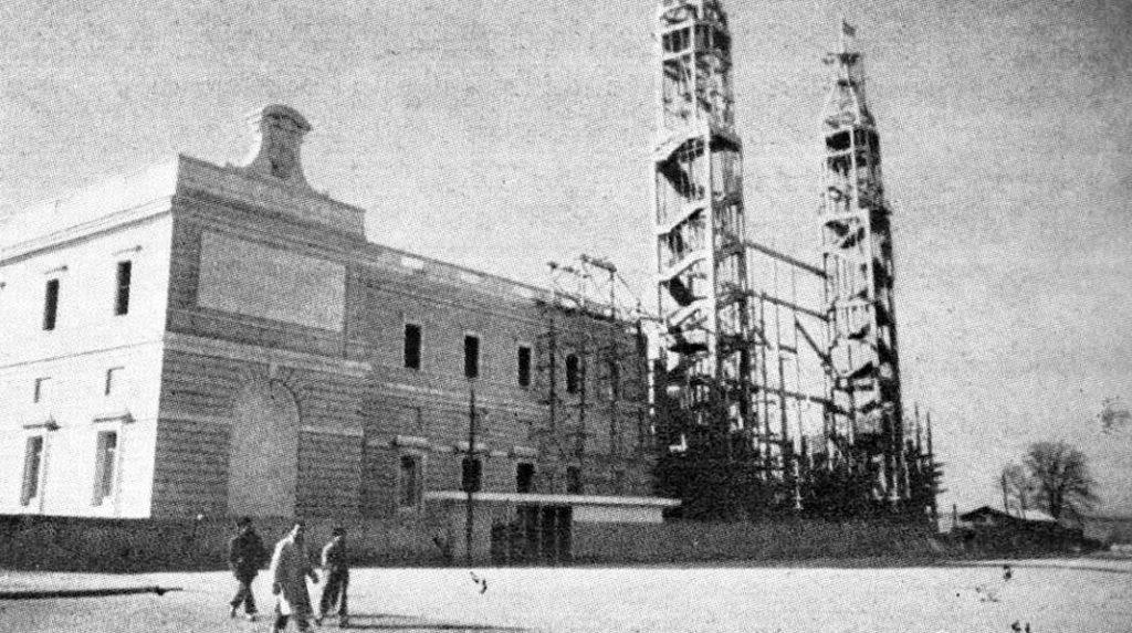 Construcción de la Catedral de la Almudena (1953)