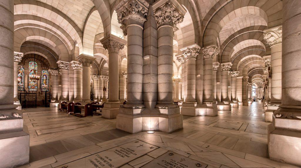 Cripta de la Catedral de la Almudena.