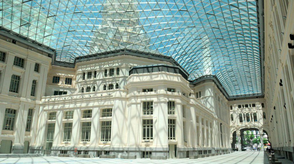 Galería de Cristal del Palacio de Cibeles.