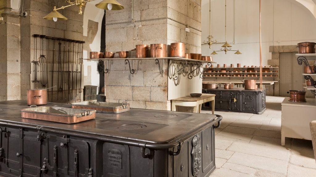 Reales Cocinas del Palacio Real de Madrid.