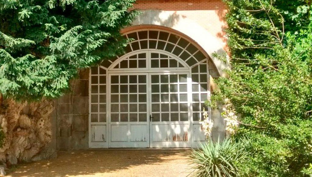Entrada al conocido como Tunel de Bonaparte en el Campo del Moro.