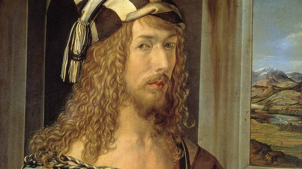 Autorretrato, Alberto Durero. 1498.