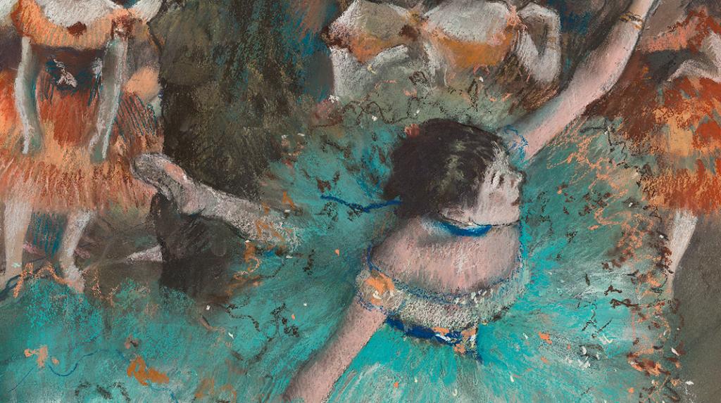 Bailarina basculando, Edgar Degas (1877-1879)