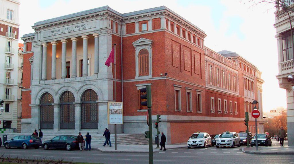 Casón del Buen Retiro, edificio perteneciente al Campus Museístico del Museo del Prado.