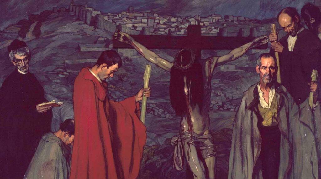 Cristo de la Sangre, Ignacio Zuloaga. 1911