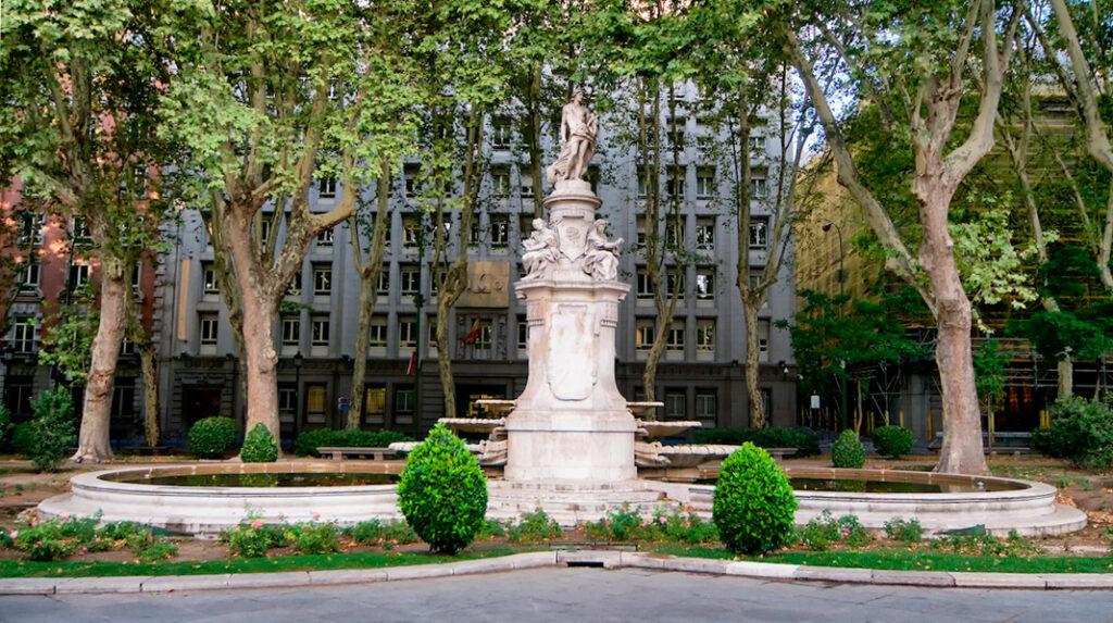 Fuente de Apolo, en el Paseo del Prado de Madrid.