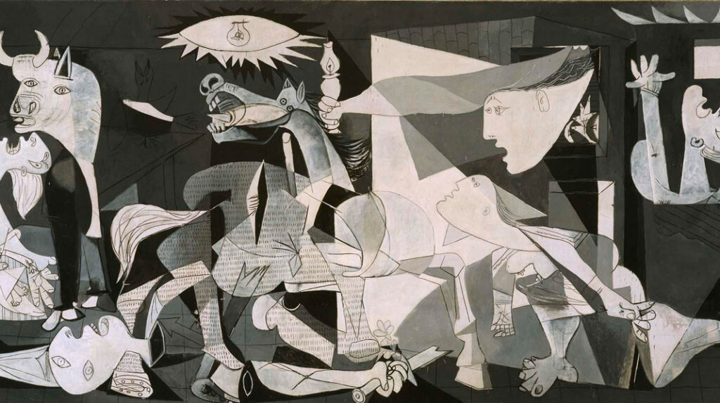 Guernica, Pablo Picasso. 1937