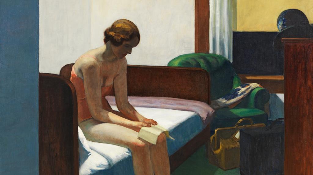 Habitación de hotel, Edward Hopper (1931)