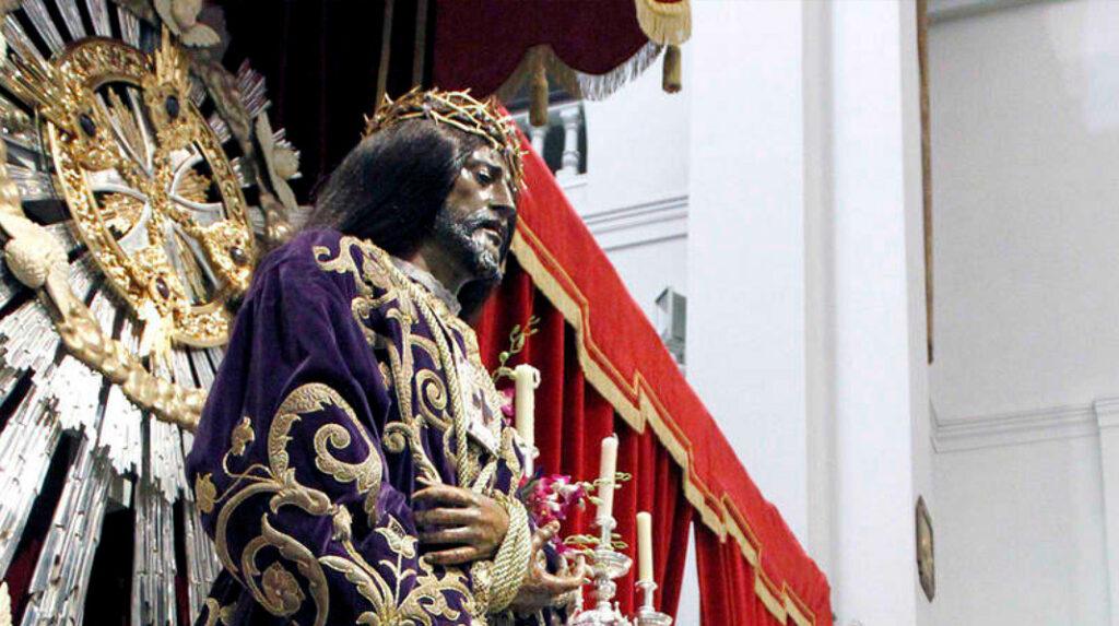 Imagen de Jesús de Medinaceli, conocido como el Señor de Madrid para el catolicismo..