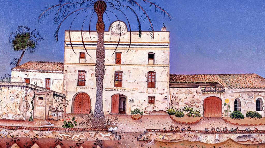 La Casa de la palmera, Joan Miró. 1918