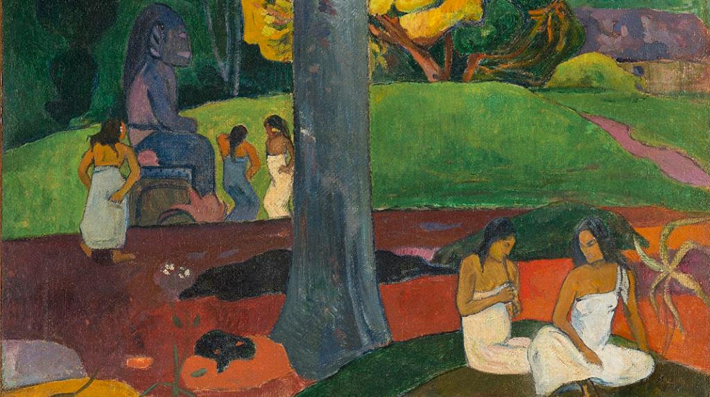 Mata Mua (Érase una vez), Paul Gauguin (1892)