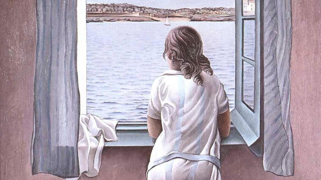 Muchacha en la ventana, Salvador Dalí. 1925