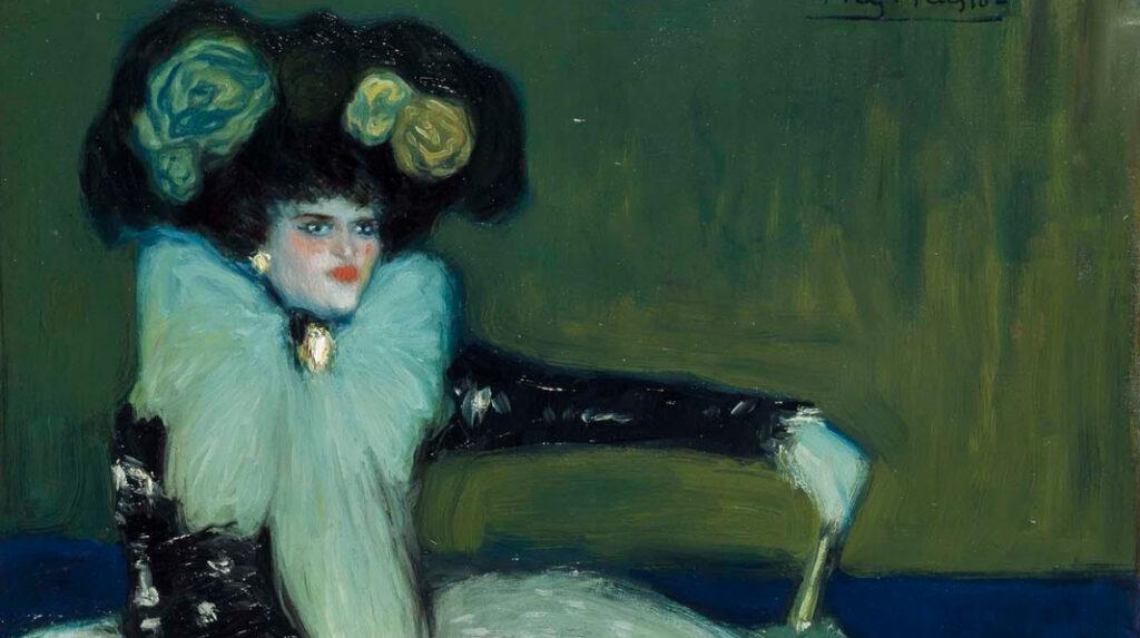 Mujer de Azul, Pablo Picasso. 1901
