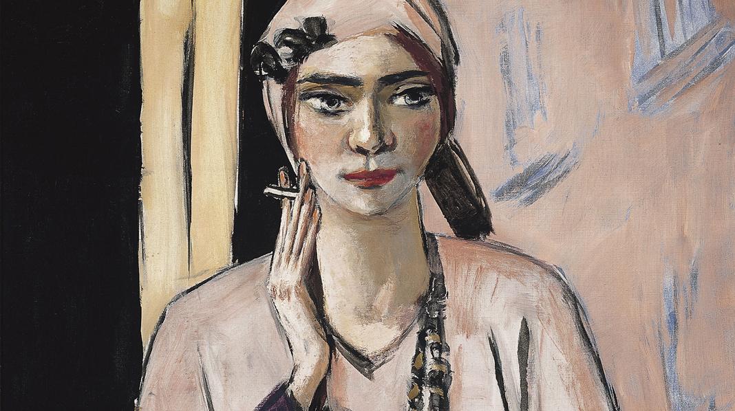 Quappi con suéter rosa, Max Beckmann. 1932-1934.