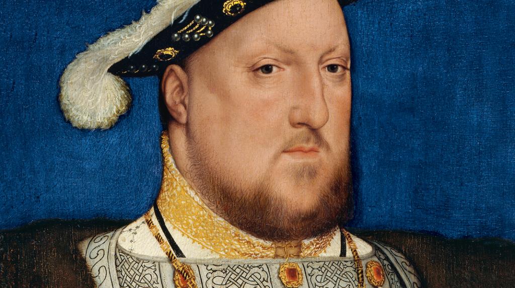 Retrato de Enrique VIII de Inglaterra, Hans Holbein el Joven (1537)