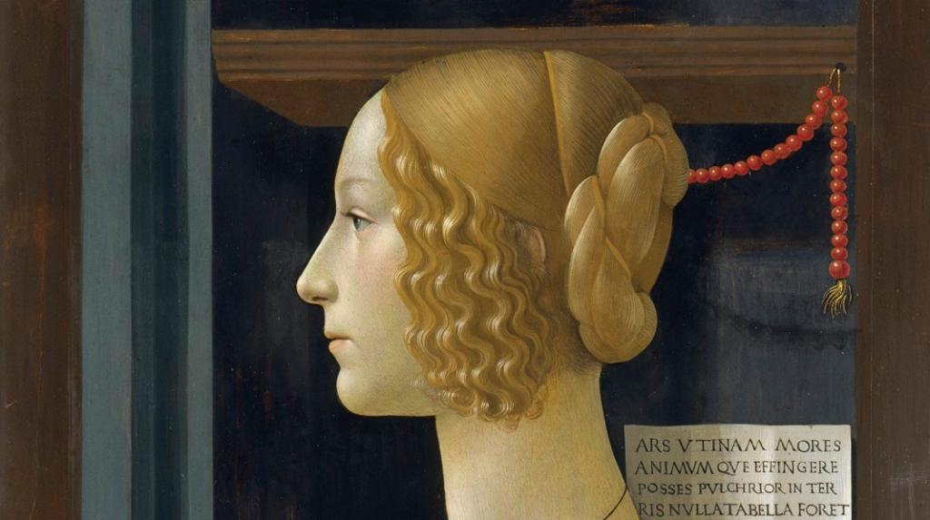 Retrato de Giovanna Tornabuoni, Domenico Ghirlandaio (1488)