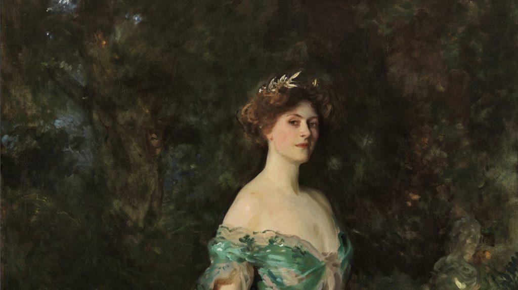 Retrato de Millicent, duquesa de Sutherland, John Singer Sargent. 1904.
