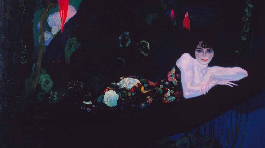 Retrato de Sonia Klamery, Anglada Camarasa. 1913