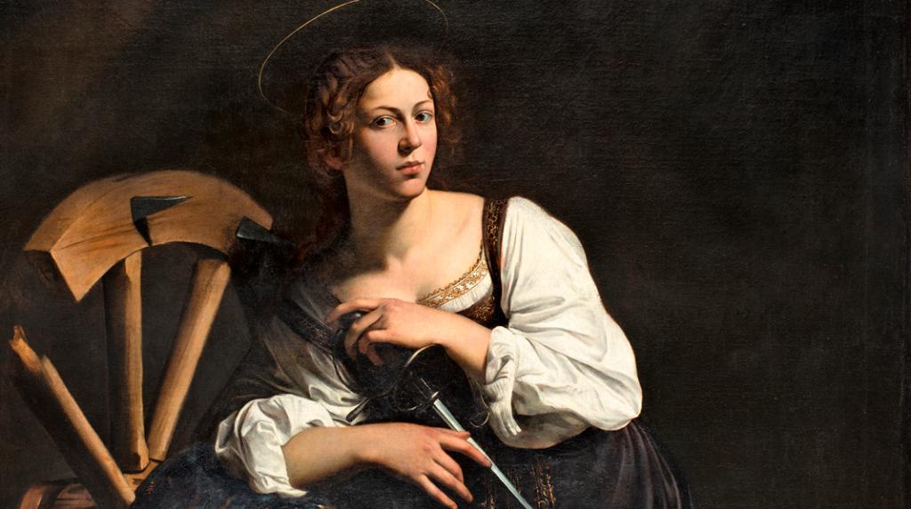 Santa Catalina de Alejandría, Caravaggio (1598-1599)