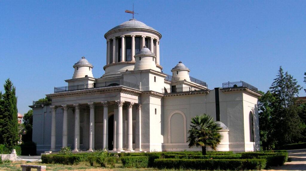 Edificio principal del Real Observatorio de Madrid.