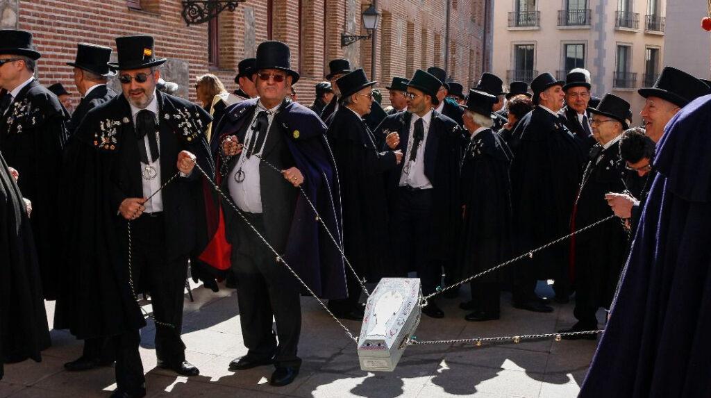 Procesión del Entierro de la Sardina, que da fin al Carnaval.