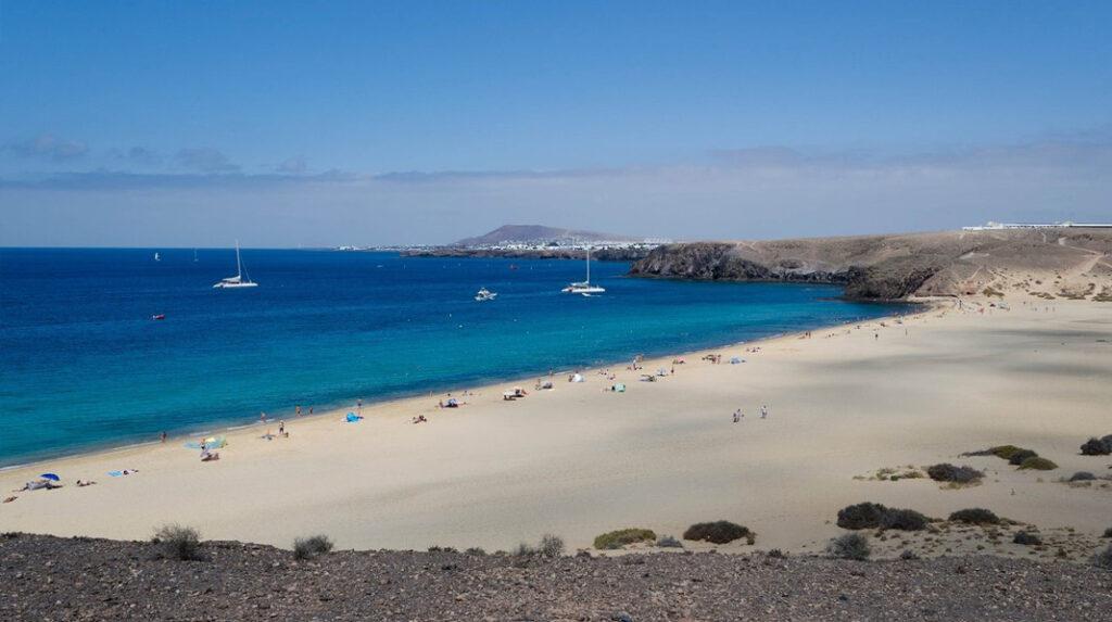 Playa Mujeres, la más amplia y de fácil acceso de Punta del Papagayo.