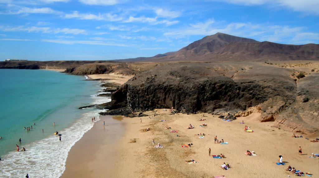 Playa de la Cera, una gran opción eclipsada por la Playa del Papagayo.