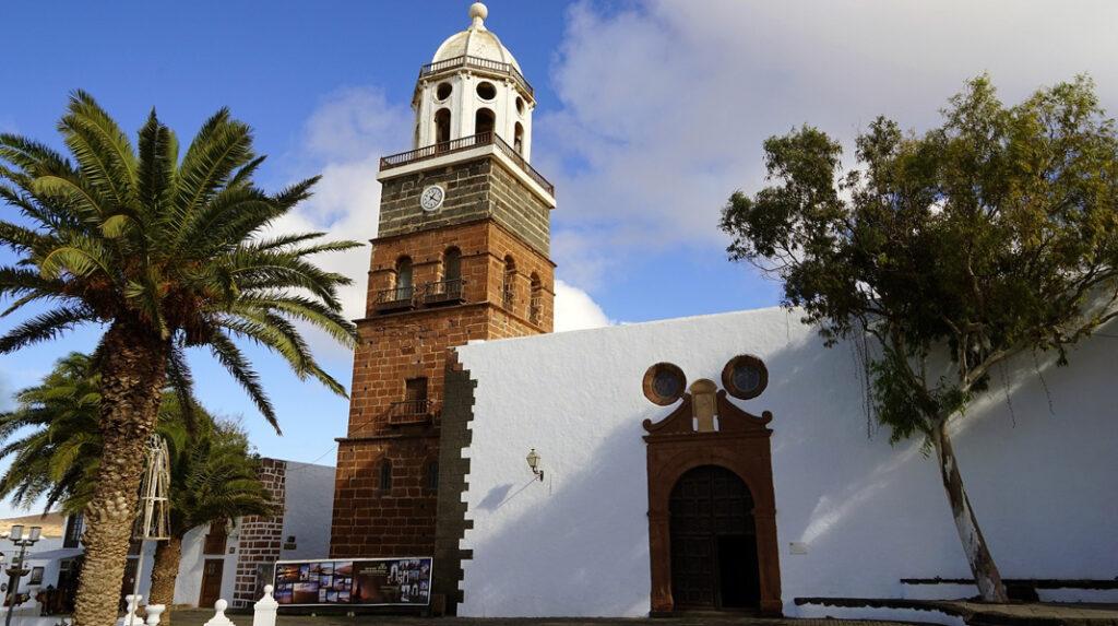 Iglesia de Guadalupe en la Villa de Teguise.